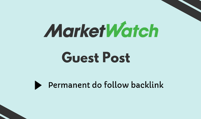 Publish a guest post on Marketwatch.com - Marketwatch DA92