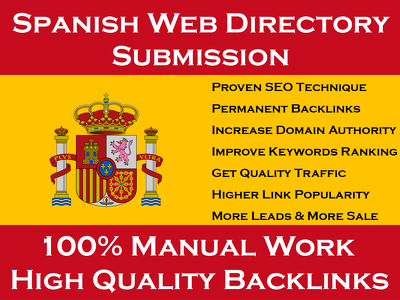 Spanish Web Directory Submission To Grow Business In Spain