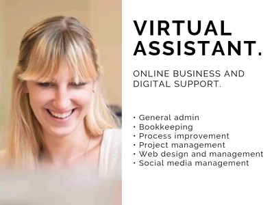 Provide one hours virtual assistance / business support