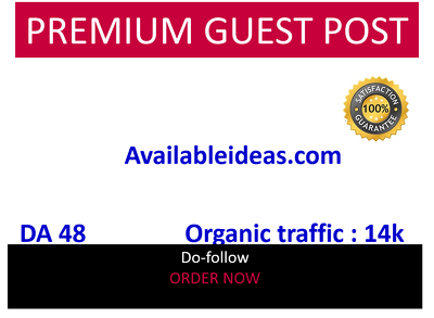 Guest post on Availableideas.com – DA48  lifestyle, home site