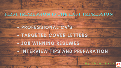 Win a new role with new CV & Cover letter