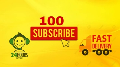 Give  100 Non-Drop & Genuine YouTube subscribers to your channel