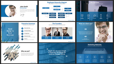 DESIGN 10 SLIDES POWERPOINT/KEYNOTE/PREZI PRESENTATION
