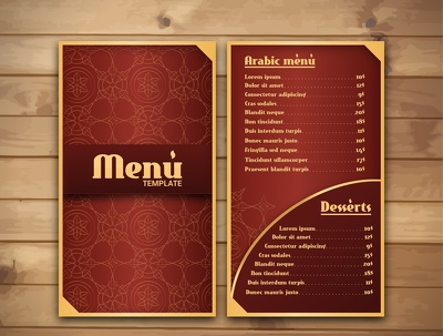 Design Your Restaurant Food Menu Or Price Sheet