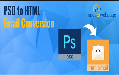 Convert PSD to responsive, editable HTML email template