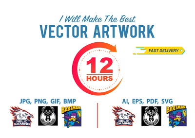 I Will Vectorise Your Logo, Convert Image To Vector In 24 Hours