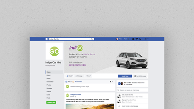 Stunning Facebook Page Cover - Fully Branded & Editable