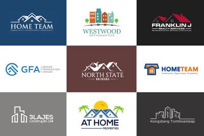 Design Real Estate Logo + Source files + Revisions