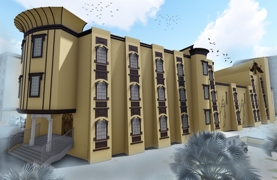 Do architecture project 3d models, 2d drawings and render