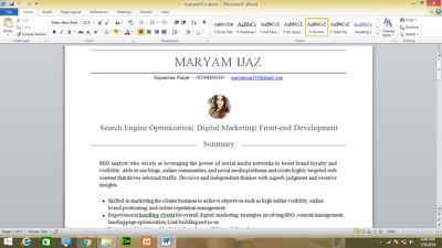 Do job of your dream through expert CV writing