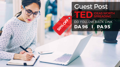 Guest Post In Ted.Com With Do-follow Link In 5 Business Days