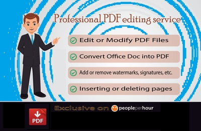 Convert or edit PDF TO WORD