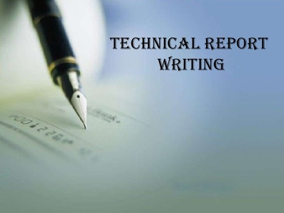Do a Technical Report Writing