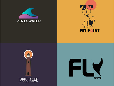 Design 2 minimalist logo in 12 hours