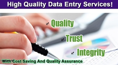 Offer 2 hours of Perfect Data Entry Services