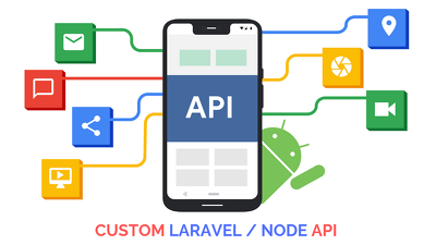 Develop 10 APIs in Laravel or NodeJS for your Web or Mobile Apps