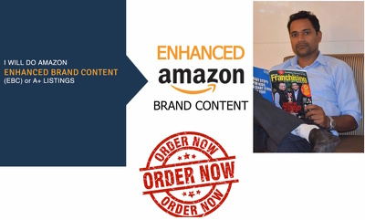 Create Amazon Enhanced Brand Content EBC A Plus (For 1 Product)
