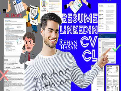 Update rewrite edit CV resume cover letter linkedin profile
