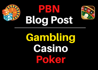 Provide you 20 Online casino poker,Betting,Gambling Blog Post