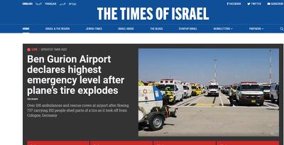Guest post in TimesofIsrael Timesofisrael.com DA 88 DR 85