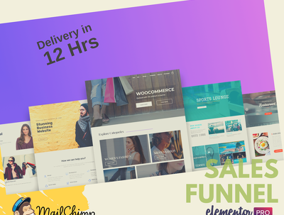 CreateSales Funnel and Landing Page with Wordpress & Clickfunnel