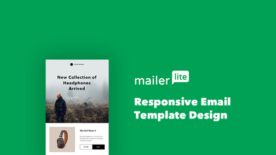Responsive & Editable Mailerlite Email Template