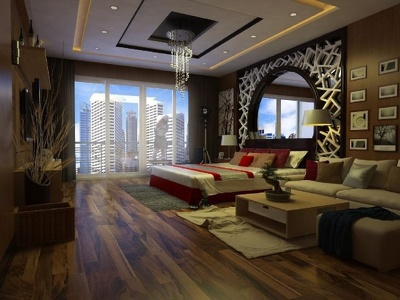Design a good interior view for your bedroom or office