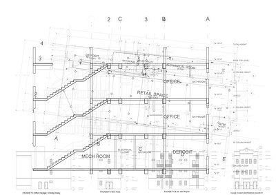 2D draw your architectural project for your planning application