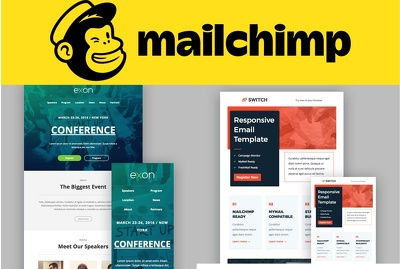 Design Fully Responsive Mailchimp Email Template, Automation