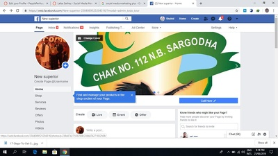 Create and optimize Facebook business page