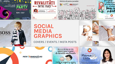 Design Social Media Graphics (Instagram, Facebook, LinkedIn)
