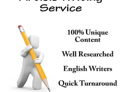 Write quality and flawless 500 words article for you
