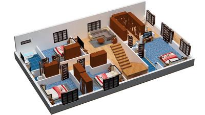 Design Floor Plans in 2D/3D
