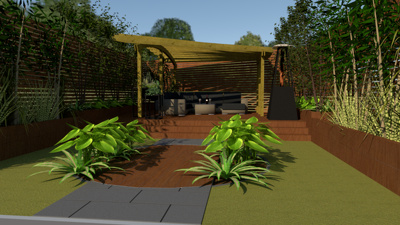 Turn your garden/landscape ideas into a 3D photorealistic render