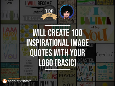 Create 100 Inspirational Image Quotes With Your Logo