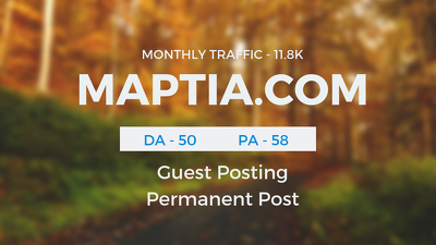 Publish Guestpost on Travel Niche MAPTIA. COM