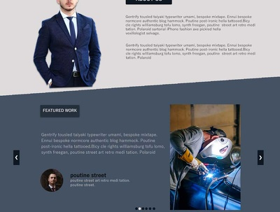 Design responsive web page from scratch using HTML and CSS.