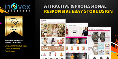 Create ebay store and listing template design