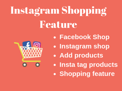 Setup instagram shop and enable product tagging