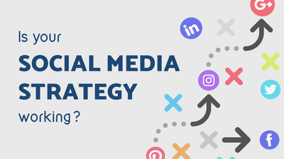 Make social media marketing strategy