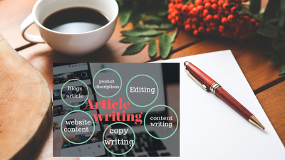Article writing ,website content or content rewrite
