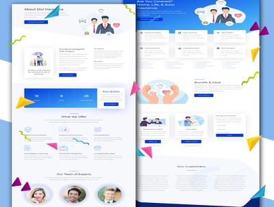 Create WP Business Website by Bestseller theme Avada, Be Theme