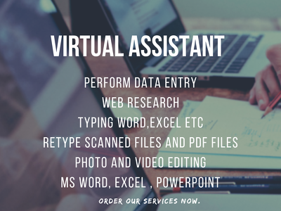 Do Virtual assistant work for you