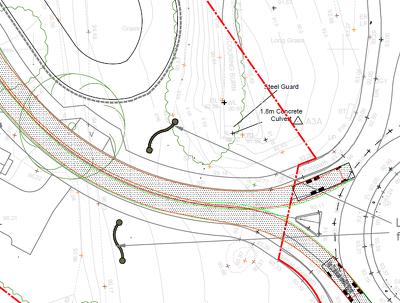 Produce Swept path analysis / Vehicle tracking