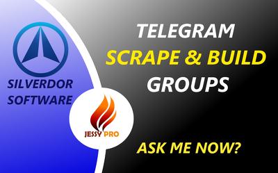 Telegram Bot Scrape And Build Groups Silverdor Software Learning