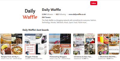 Write & guest on Fashion & Tech site Dailywaffle.co.uk DA42 PA47