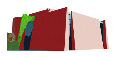 Design buildings and landscape illustrations
