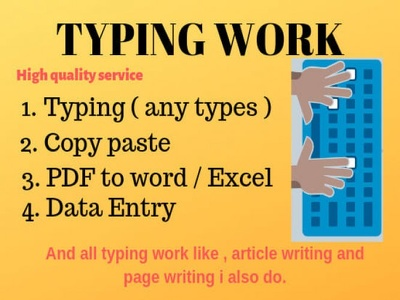 Type 20 pages of Scanned,PDF,Image docs into Word within 24