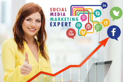 Be your social media manager for social media marketing (7days)