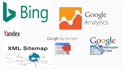 Add or Fix Google, Bing, Yandex, Webmasters, Analytics & Sitemap